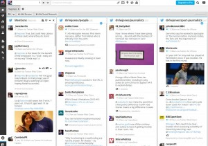 My Hootsuite. I'm afraid I do look at this screen quite a lot.